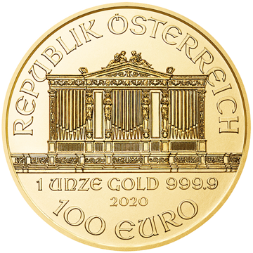 Picture of 2020 1 oz Austrian Gold Philharmonic