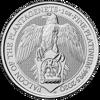 Picture of 2020 1 oz Platinum Queens Beast Falcon