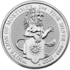 Picture of 2020 2 oz British Silver Queens Beast White Lion Of Mortimer