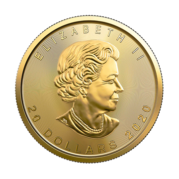 Picture of 2020 1/2 oz Canadian Gold Maple Leaf