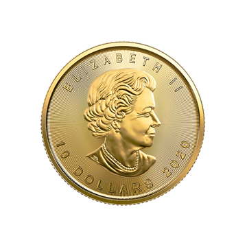 Picture of 2020 1/4 oz Canadian Gold Maple Leaf