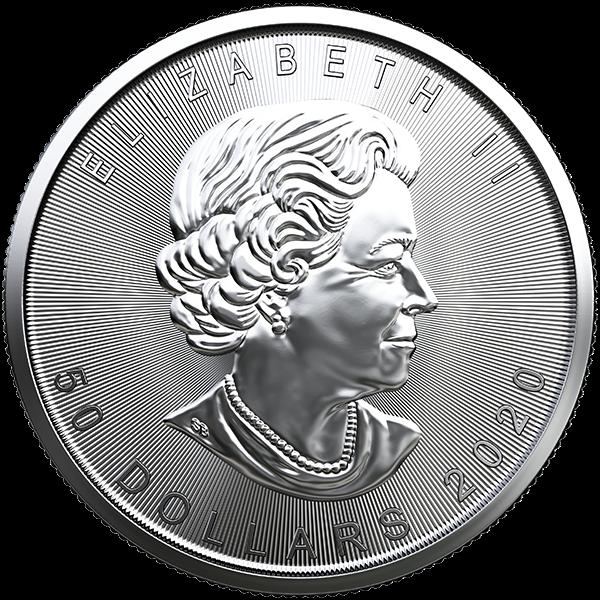 Picture of 2020 1 oz Canadian Platinum Maple Leaf