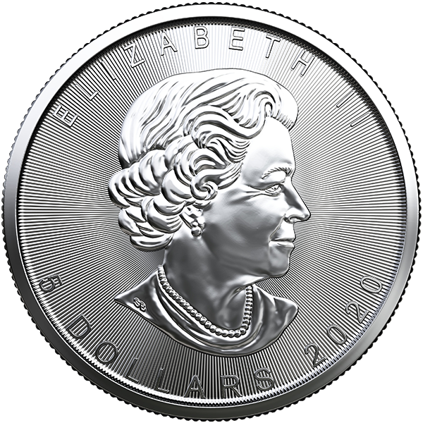 Picture of 2020 1 oz Canadian Silver Maple Leaf
