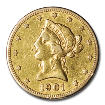 Picture of $10 Liberty Gold Coins AU